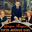 Ginger Rogers, Walter Connolly, and Franklin Pangborn in Fifth Avenue Girl (1939)