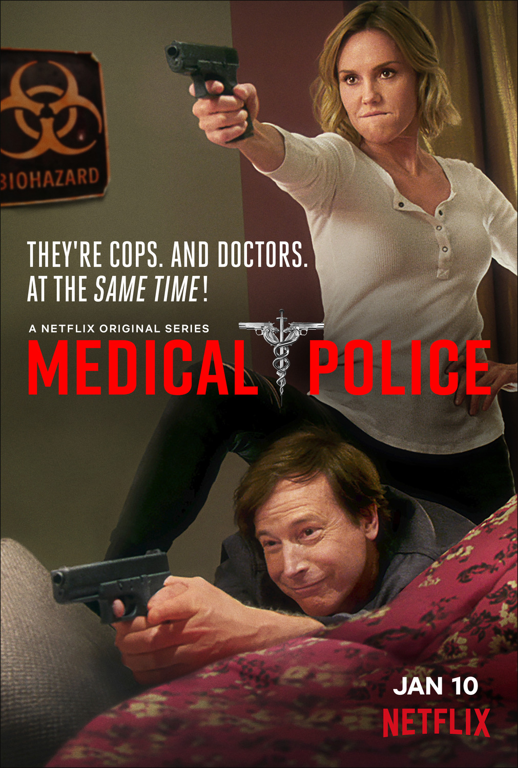 DAKTARAI POLICININKAI (1 Sezonas) / MEDICAL POLICE Season 1