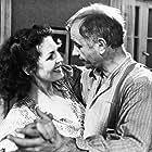 Armin Mueller-Stahl and Elisabeth Trissenaar in Bittere Ernte (1985)