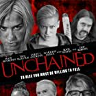 Eric Roberts, Rock Riddle, Sloan Roberts, Mair Mulroney, Kira Hennigan, Maricris Lapaix, and Larry L Andrews in Unchained (2021)