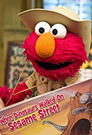 When Dinosaurs Walked Sesame Street Poster