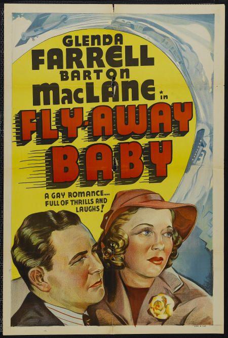 Glenda Farrell and Barton MacLane in Fly Away Baby (1937)