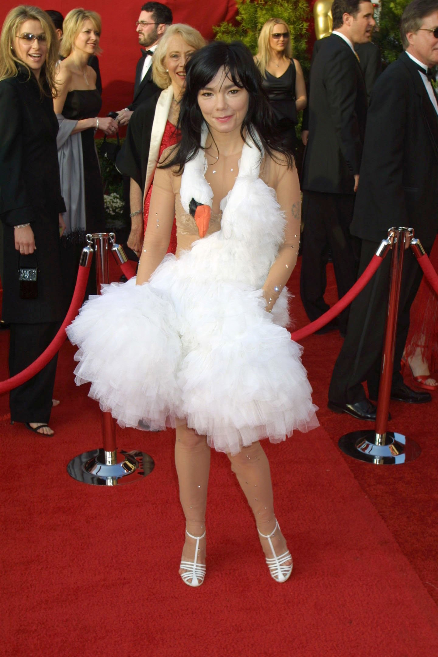 Björk at an event for The 73rd Annual Academy Awards (2001)