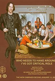 Taliesin Jaffe, Ashley Johnson, Sam Riegel, Travis Willingham, Laura Bailey, Liam O'Brien, Matthew Mercer, and Marisha Ray in Critical Role (2015)