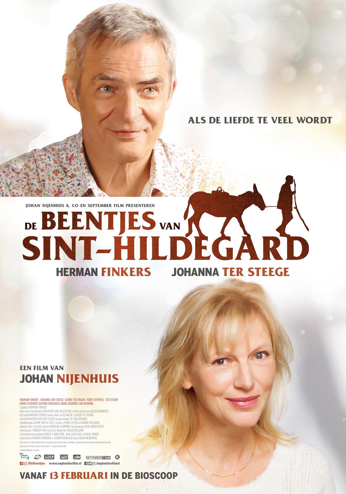 Herman Finkers and Johanna ter Steege in De beentjes van Sint-Hildegard (2020)