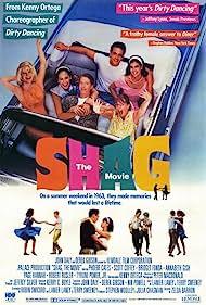 Phoebe Cates, Bridget Fonda, Annabeth Gish, Scott Coffey, Page Hannah, and Robert Rusler in Shag (1988)