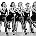 Edwina Carroll, Lisa Gastoni, Vikki Hammond, Dilys Laye, Marigold Russell, and Pat Laurence in Blue Murder at St. Trinian's (1957)
