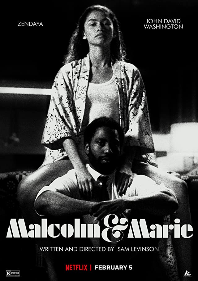 Malcolm and Marie (2021) English 720p HEVC NF HDRip  x265 AAC MSubs (550MB) Full Movie Download