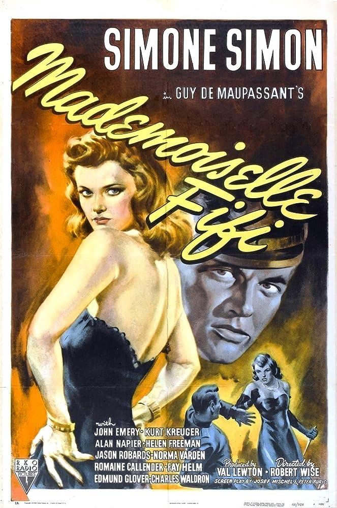 Kurt Kreuger and Simone Simon in Mademoiselle Fifi (1944)