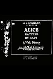 Alice Rattled by Rats Poster