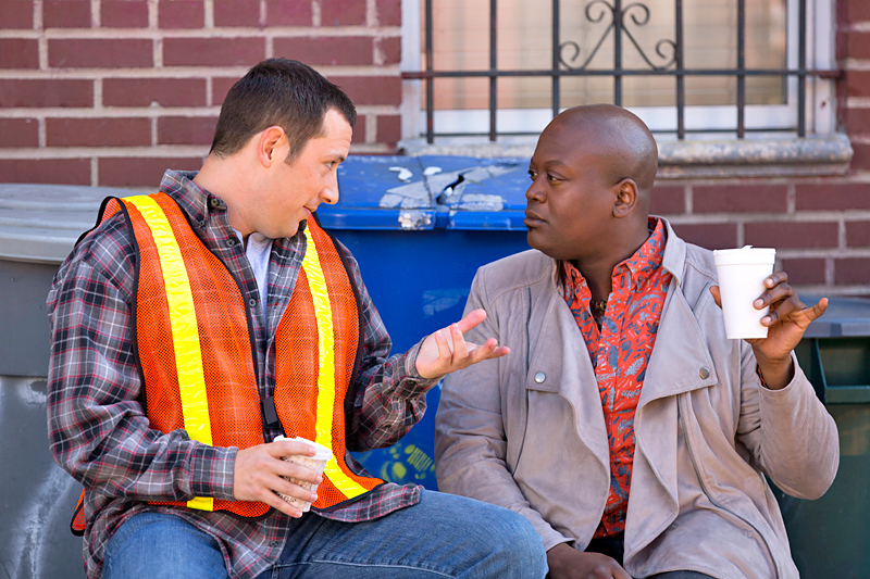 Mike Carlsen and Tituss Burgess in Unbreakable Kimmy Schmidt (2015)
