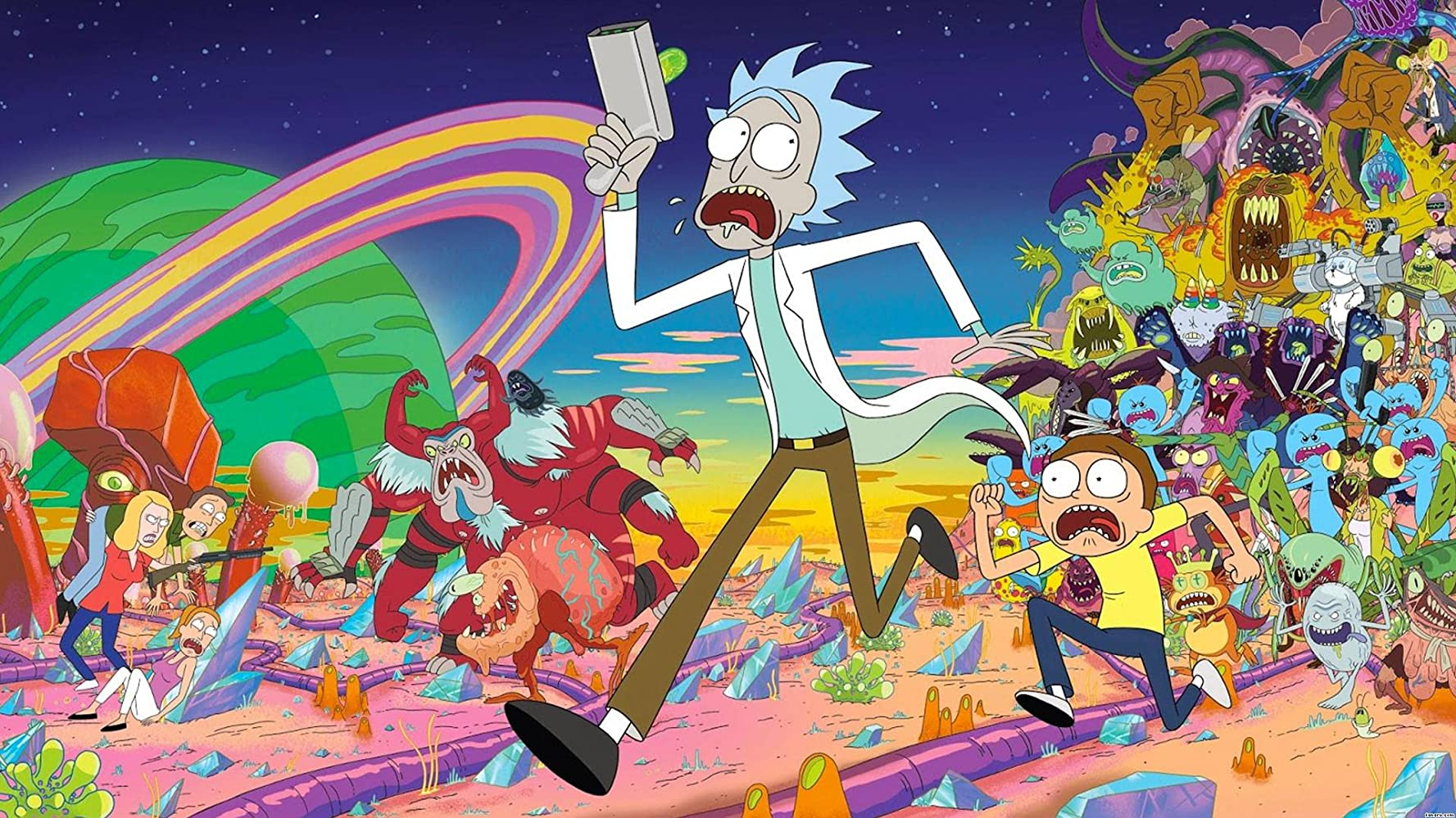 Imagens do Rick and Morty Dublado Dublado Online