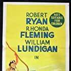 Rhonda Fleming, William Lundigan, and Robert Ryan in Inferno (1953)