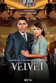 Paula Echevarría and Miguel Ángel Silvestre in Velvet (2013)