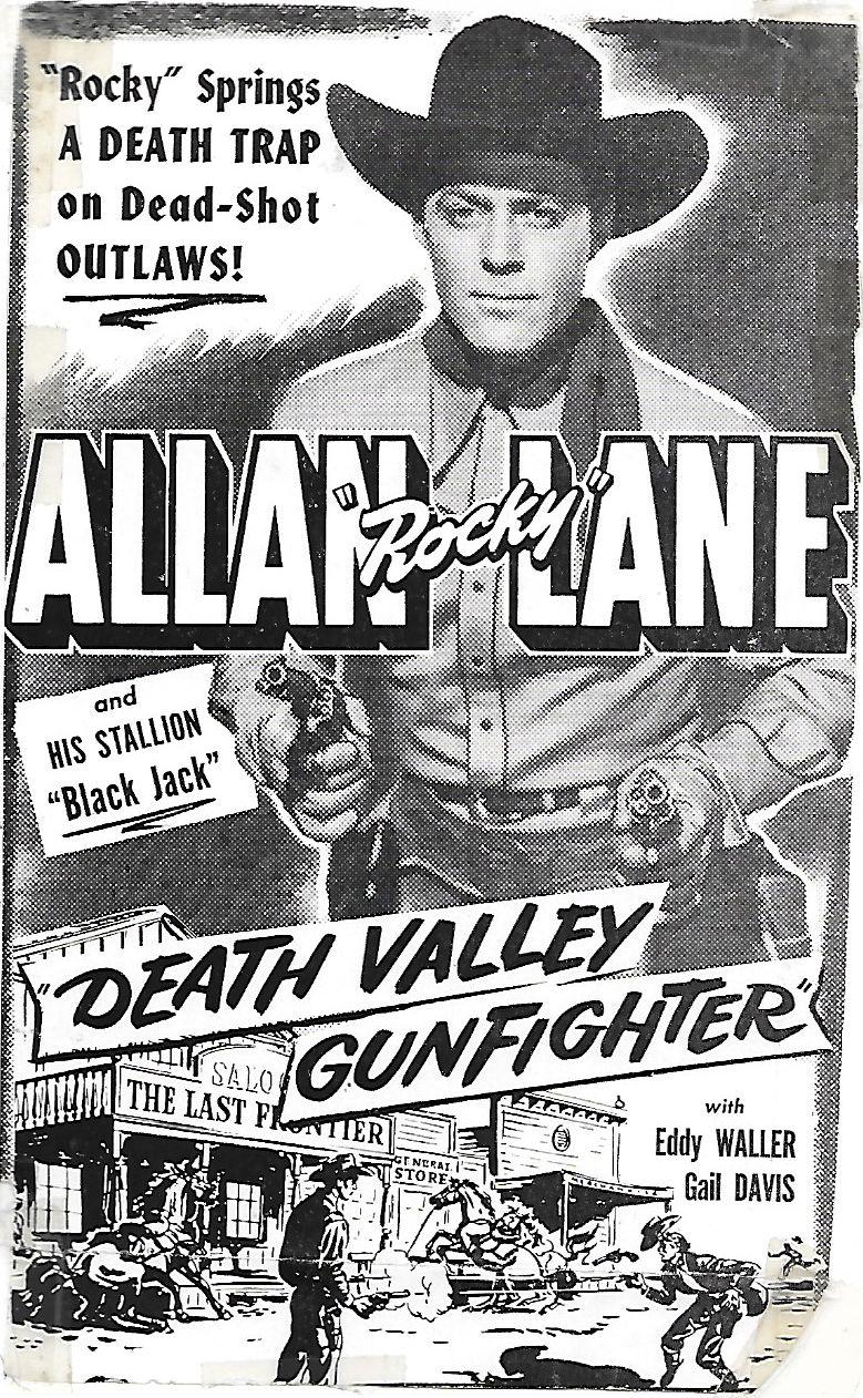 Allan Lane in Death Valley Gunfighter (1949)