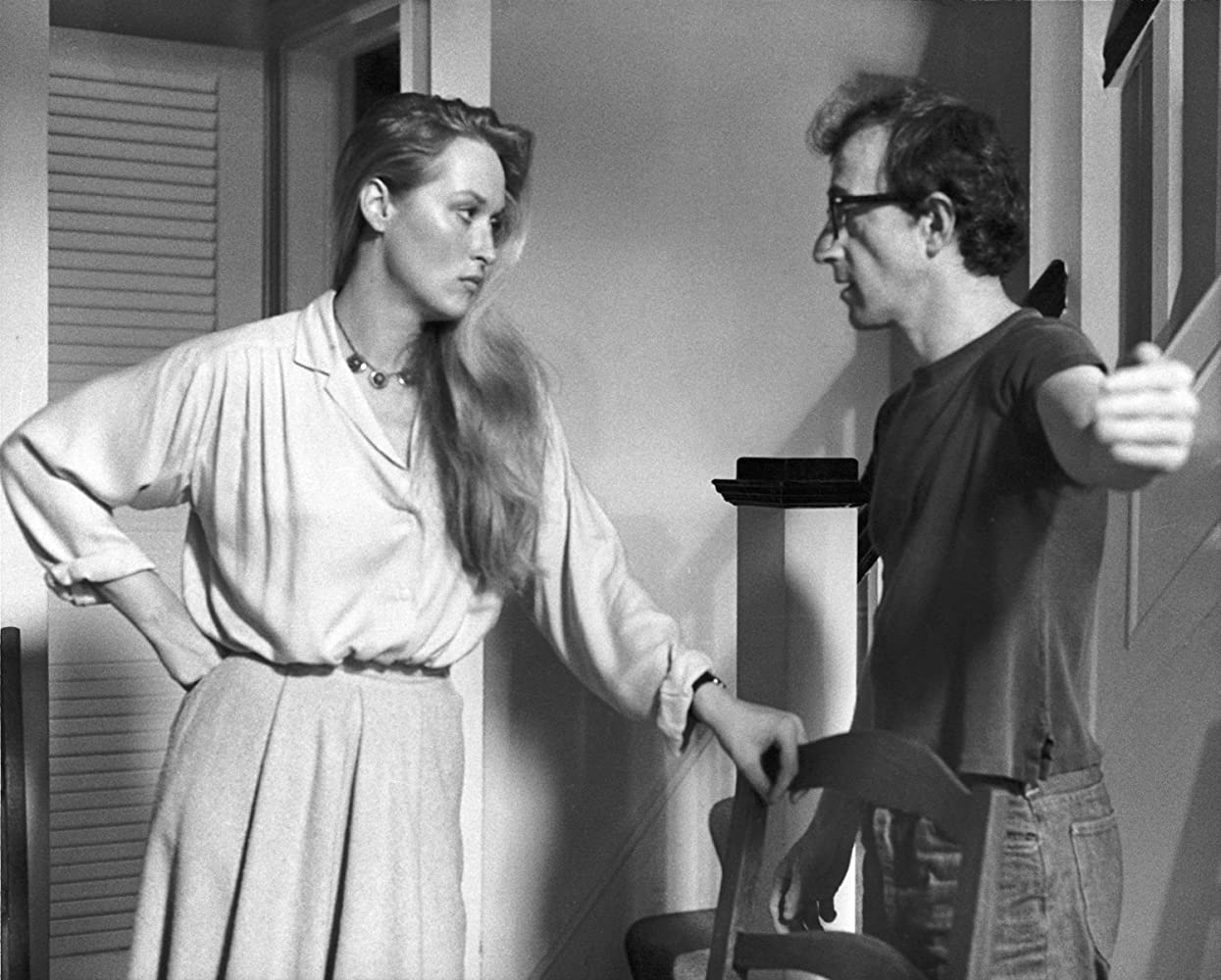 Woody Allen and Meryl Streep in Manhattan (1979)