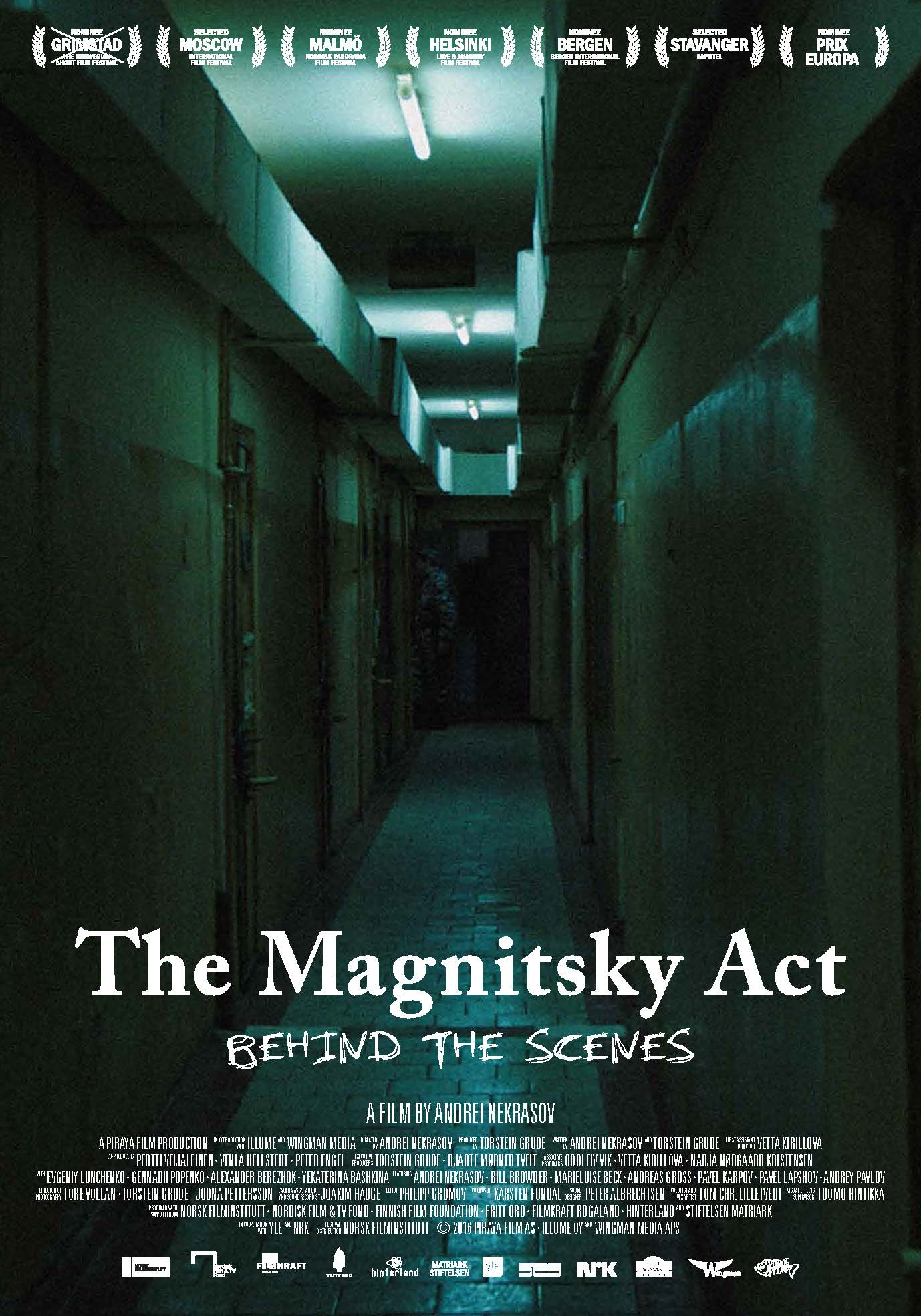 Image result for The Magnitsky Act. Behind the Scenes