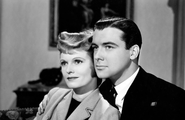 Richard Greene and Anna Neagle in Yellow Canary (1943)