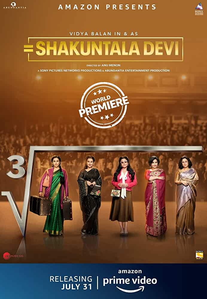 Shakuntala Devi (2020) Hindi Full Movie Watch Online Download