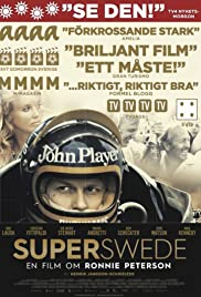 Superswede: En film om Ronnie Peterson Poster