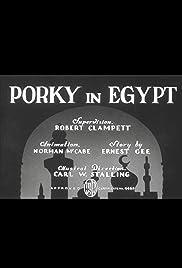 Porky in Egypt Poster