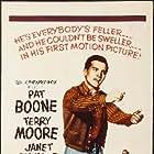 Pat Boone, Janet Gaynor, and Terry Moore in Bernardine (1957)