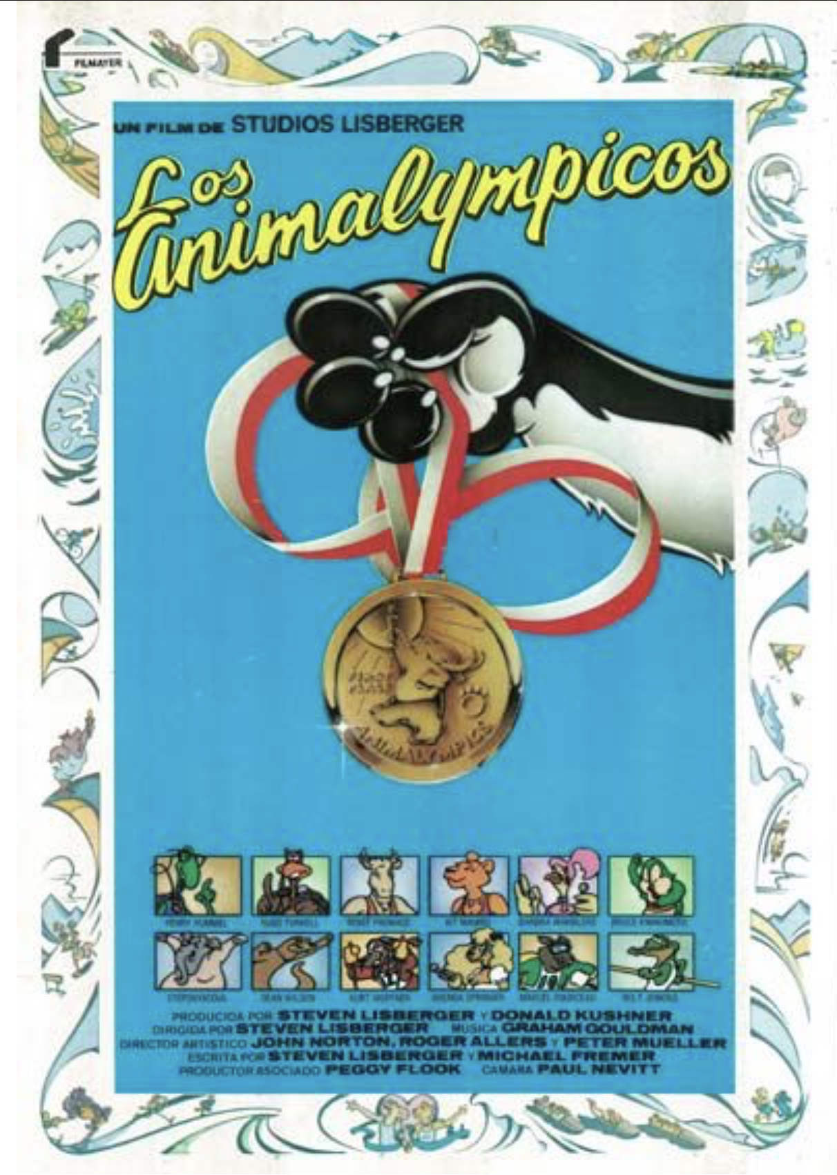 Animalympics Dvd