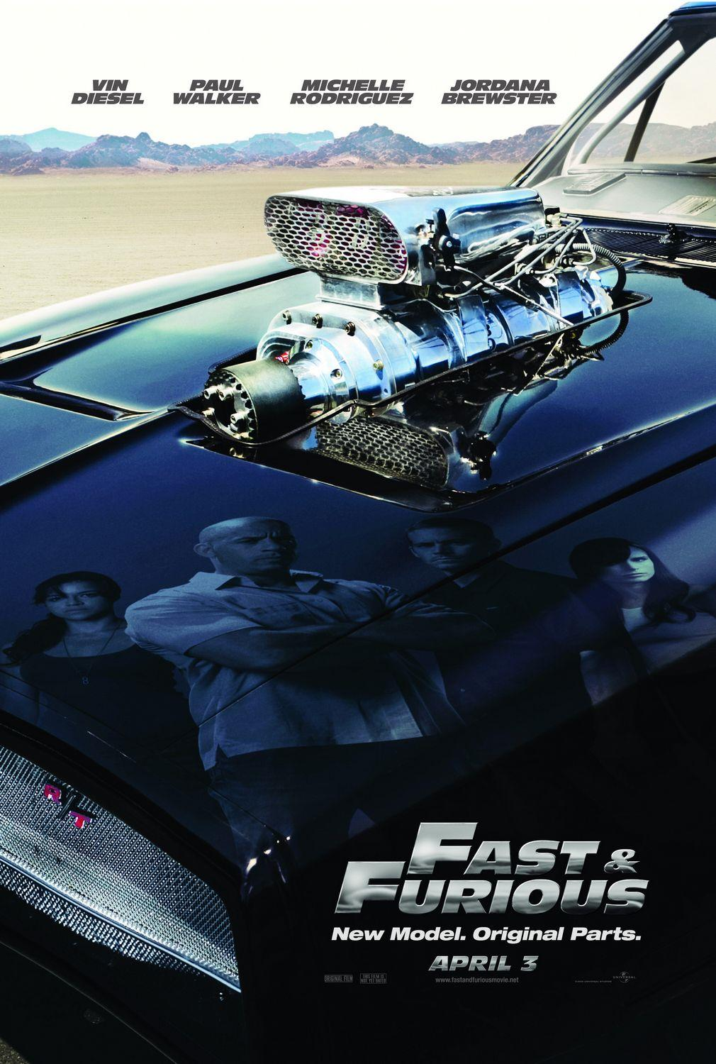 Fast & Furious (2009) BluRay 480p, 720p & 1080p