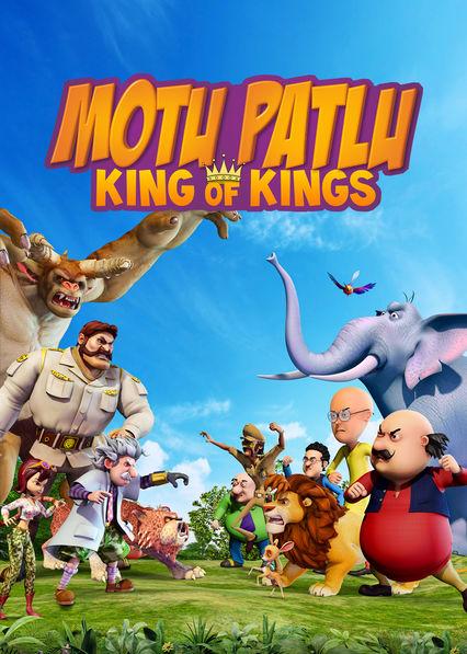 Motu Patlu: King of Kings (2016) Hindi DvD-Rip - 480P | 720P - x264 - 300MB | 800MB - Download & Watch Online  Movie Poster - mlsbd