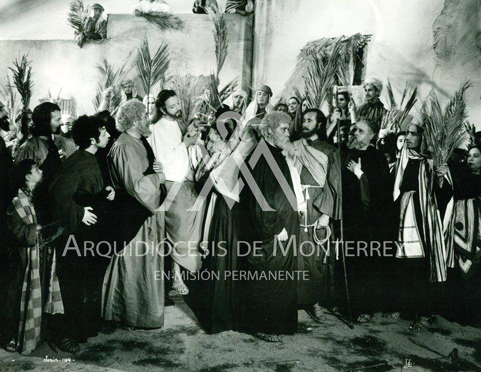 José Cibrián, Enrique García Álvarez, Ramón G. Larrea, Rafael Medina, and Manuel Santamaría in Jesús de Nazareth (1942)