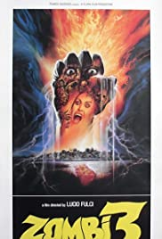 Zombie 3 (1988) Poster - Movie Forum, Cast, Reviews