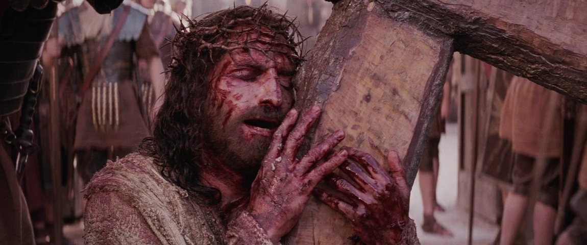 Jim Caviezel in The Passion of the Christ 2004