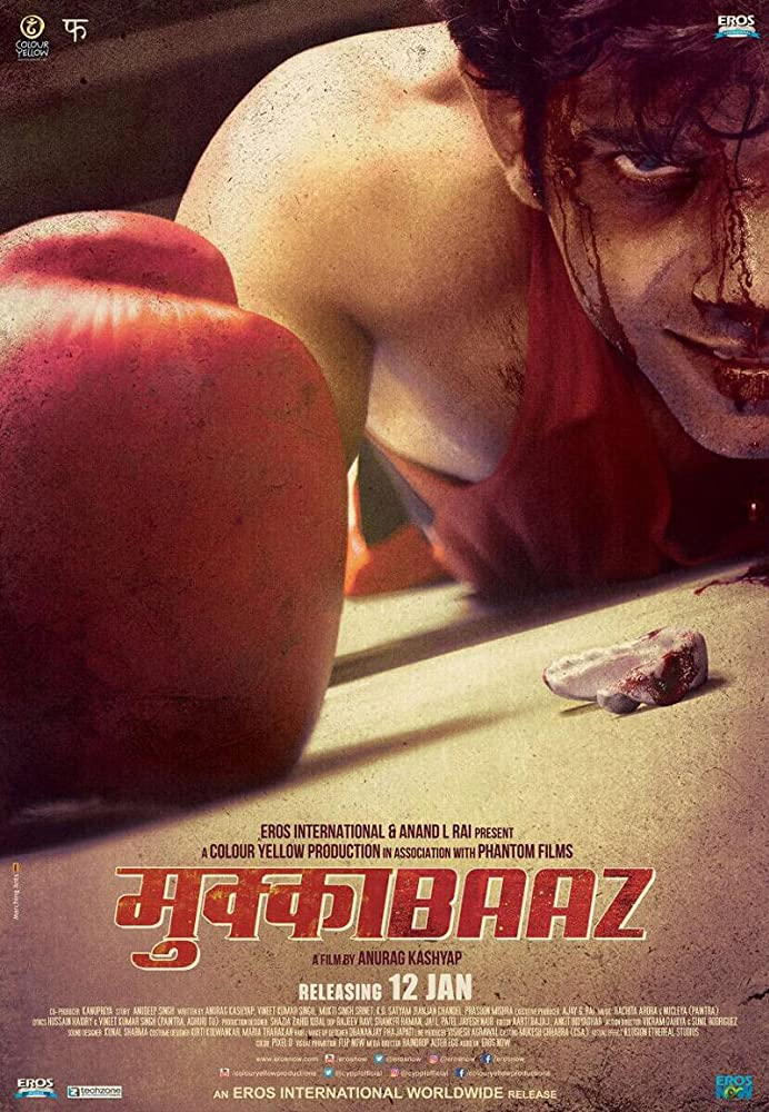 Mukkabaaz 2018 Hindi Movie WebRip 400mb 480p 1.2GB 720p
