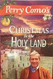 perry comos christmas in the holy land poster - Perry Como Christmas Show