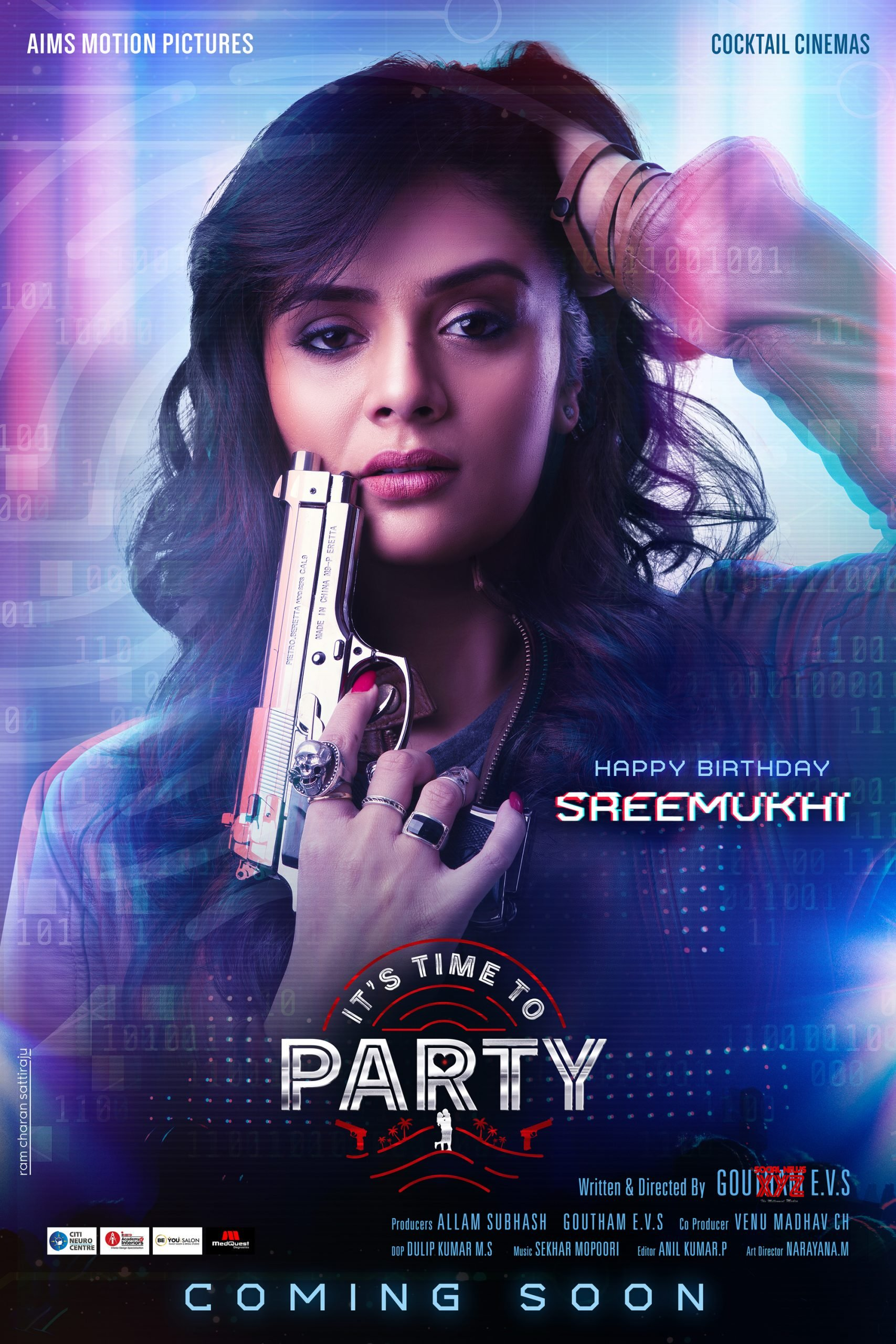 It's Time to Party 2020 Telugu 720p HDRip 1050MB ESubs Download