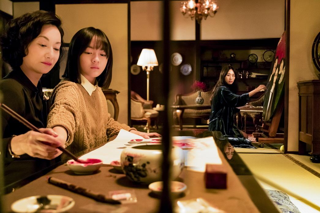 Kara Wai, Ke-Xi Wu, and Vicky Chen in Xue guan yin (2017)
