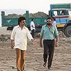Rajinikanth and M. Sasikumar in Petta (2019)
