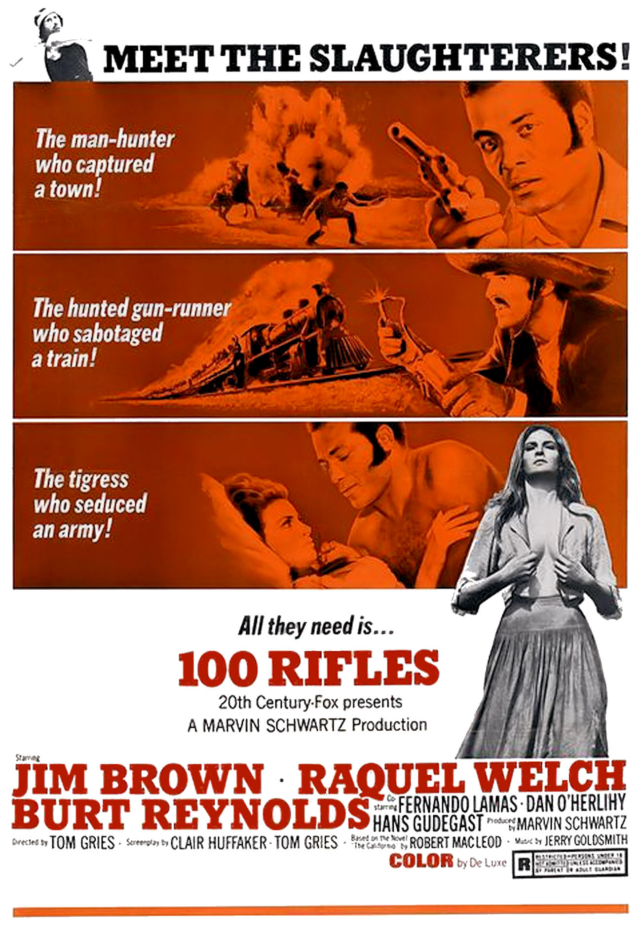 Risultati immagini per 100 Rifles