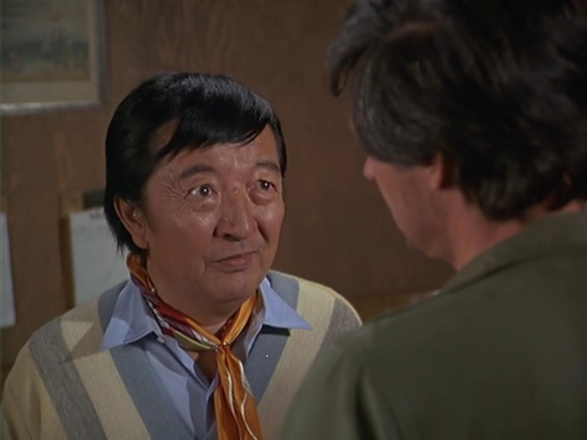 Jack Soo in M*A*S*H (1972)