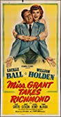 Miss Grant Takes Richmond (1949) Poster