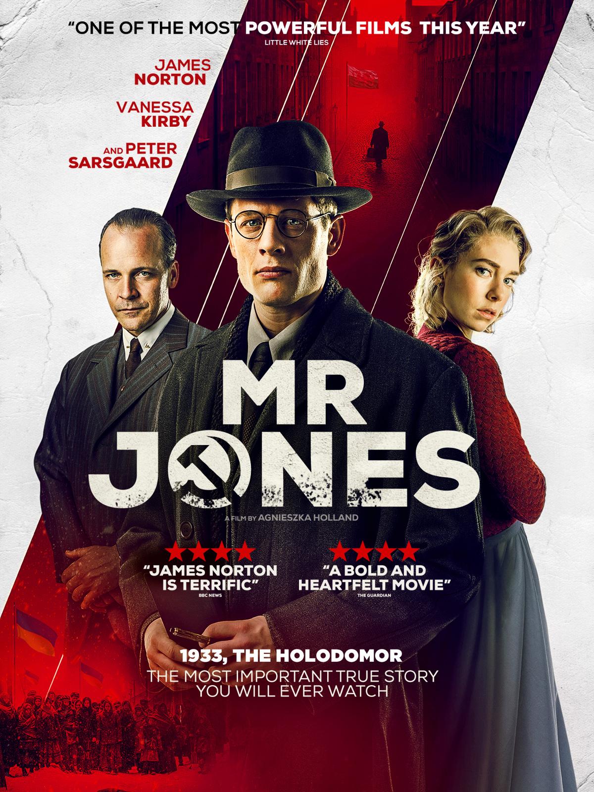 Peter Sarsgaard, James Norton, and Vanessa Kirby in Mr. Jones (2019)