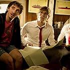 Bernabé Fernández, Ivan Massagué, and Javier Hernández in El barco (2011)