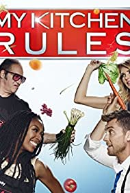 Andrew Dice Clay, Lance Bass, Brandy Norwood, and Brandi Glanville in My Kitchen Rules (2017)