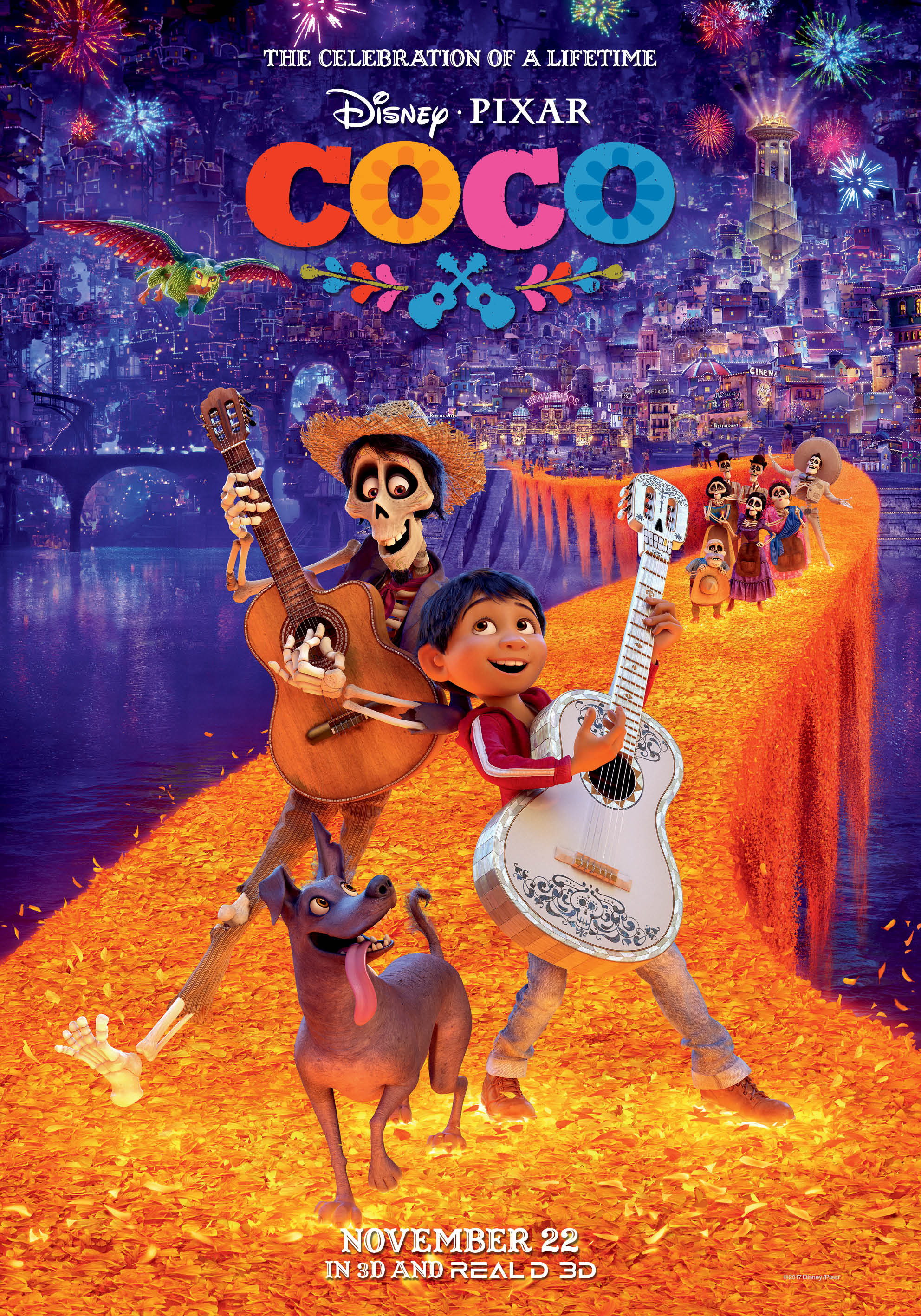 Coco 2017 Hindi Dual Audio 400MB BluRay ESubs Download