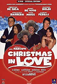 Danny DeVito, Massimo Boldi, Christian De Sica, Sabrina Ferilli, Ronn Moss, and Anna Maria Barbera in Christmas in Love (2004)