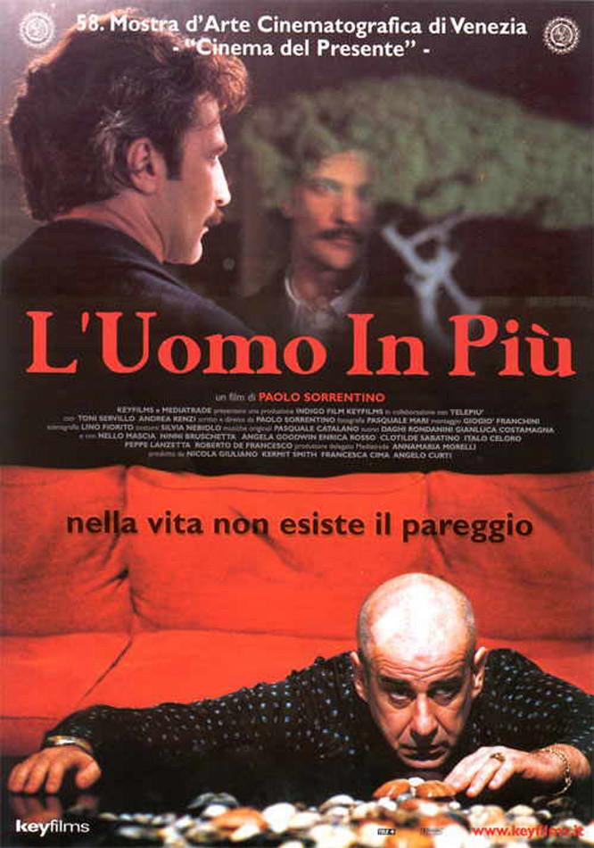 Nello Mascia and Toni Servillo in L'uomo in più (2001)