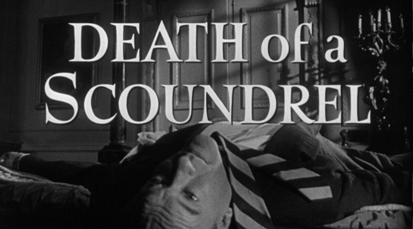 George Sanders in Death of a Scoundrel (1956)