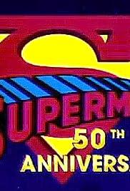Superman 50th Anniversary Poster