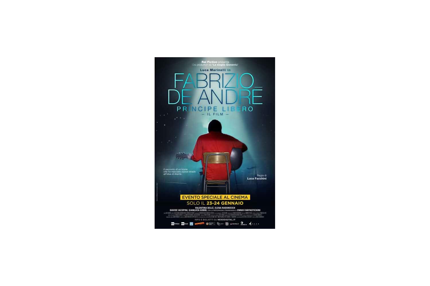 Fabrizio De Andr: Principe libero (2018)