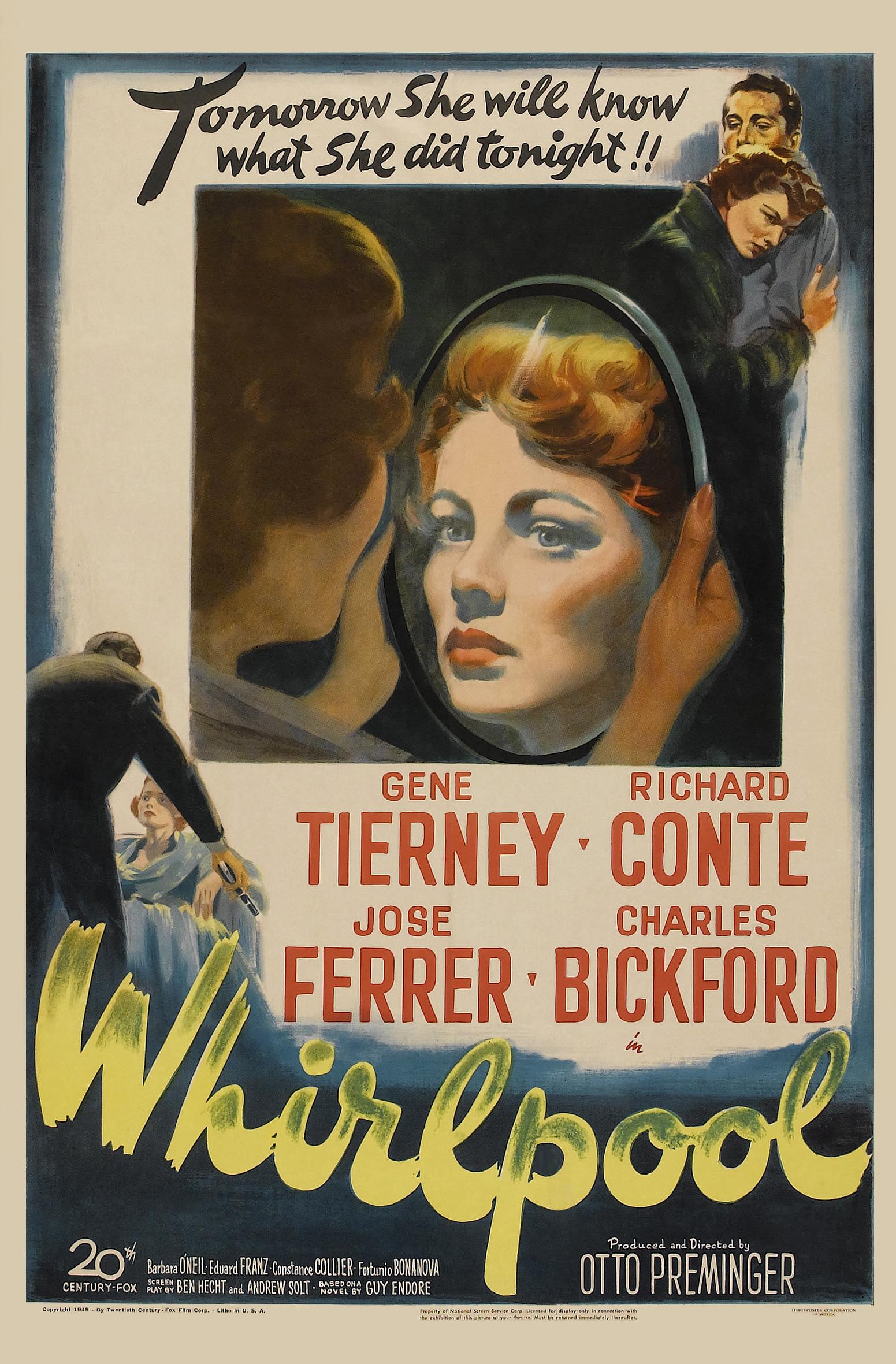 Whirlpool (1949) - IMDb